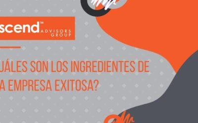¿Cuáles son los Ingredientes de una Empresa Exitosa?
